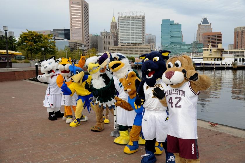 89a26477872 The History of the best CAA mascots – JMU Sports News